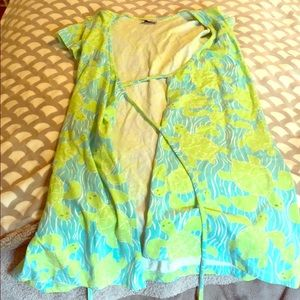 Lilly Pulitzer Wrap Dress - Size M